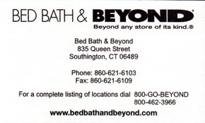 Click to see Bed Bath & Beyond Details